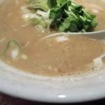 麺 匠仁坊 - お魚こってりラーメンのスープ