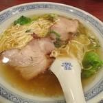 東栄酒家 - サービスセットのチャーシュー麺