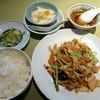 万寿苑 - 料理写真:肉野菜炒め(2014/01/27撮影)