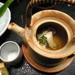 割烹 ささ川 - 松茸の土瓶蒸し