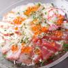 MARINA - 料理写真:築地から直送のお魚でつくる『海鮮カルパッチョ6種盛り合わせ』