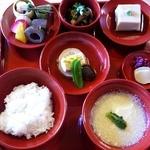 篩月 - 雪・一汁五菜