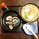 石立屋 - 鍋焼きうどん定食 900円