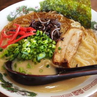 かみあり製麺 - 料理写真:鶏とんこつラーメン
