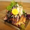 じゅん平 - 料理写真:<山和肉鶏のタタキ>ゆずこしょうに付けてお召し上がりください。相性抜群です。