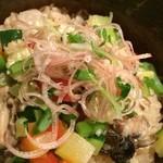 和風創作料理ぼんまり - 牡蠣とお野菜がたっぷり