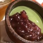 和風創作料理ぼんまり - 抹茶のプリン