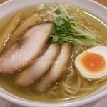 テラ - 鶏SOBA(780円)+大盛り(200円)
