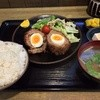 あぜみち - 料理写真:日替わり定食(ポーチドエッグ)
