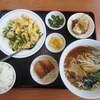 台湾料理 吉祥 - 料理写真:今週ランチ¥630(ニラと玉葱と玉子炒めver)+ラーメン¥70