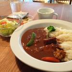 musubiのカフェ - カレーランチ800円