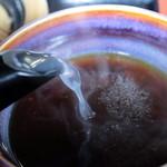 滝野庵 - サラサラ系蕎麦湯はつゆと割って良し 2013.04