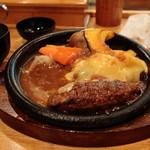 牛吉 - チーズハンバーグ(¥970) 2013.03