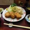 水しま - 料理写真:夜メニュー『ひれかつ御膳』¥1500 白飯・香の物・椀・小鉢・水菓子付