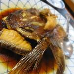 お可免 - 甘いので好みは分かれますが、かなり美味しい鯛のカブト煮 ★3.6