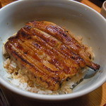 魚登久 - うな丼(小鉢、肝吸い付で3000円)