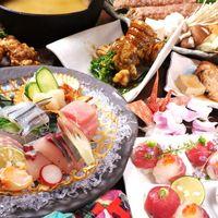 瀬戸内の活きの良い魚や郷土料理、県内産の肉料理も多数!