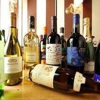 厳選ワインのほかドリンクは40種類以上♪