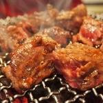 焼肉トラジ - ダイヤモンドカットカルビ 1500円  食べごたえばっちりでした!