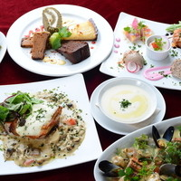 ◆DINING MENU◆ 心地よい大人の空間で多彩なおいしい料理