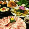 ソウル家 - 料理写真:国産三段豚バラが食べ放題【サムギョプサル90分食放付】2980円!