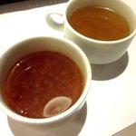 ヴォーノ・イタリア - ミネストローネ&たまごスープ!