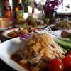 大連 - 料理写真:棒々鶏(バンバンジー)。うちの棒々鶏はサッパリした風味が特徴で東京からわざわざ食べに来てくださるお客様も居る位人気です♪是非一度ご賞味下さい(^^)