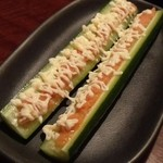しゃぶしゃぶ温野菜 - 明太子マヨときゅうり