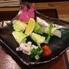 薗 - 料理写真:河豚ぶつ切り。白菜で包まれて供されました。