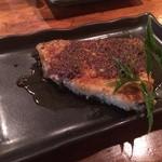茶里亭 - メカジキわさびバター醤油ソース(700円)