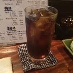 茶里亭 - 母島産サトウキビを原料にしたラムのコーラ割