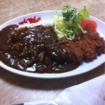 三好弥 - 料理写真:カツカレー750円