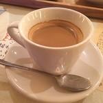 ムモクテキカフェ - セットのホットコーヒー