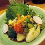 旬味ひげ - 2014.2かき酢