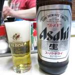 京屋 - ビール550円