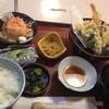 三十三間堂 - 料理写真:びっくりランチの天ぷら800円。