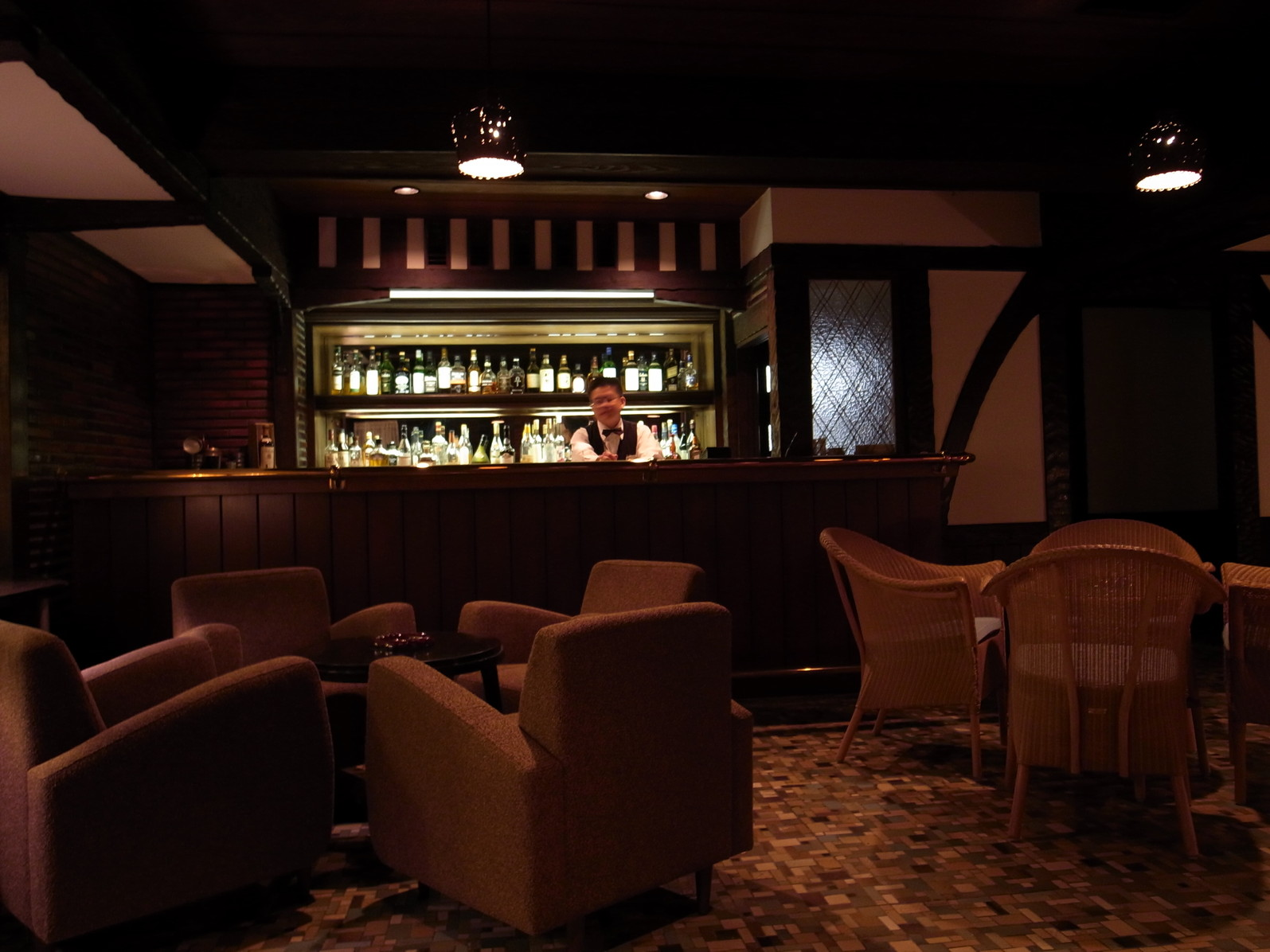 雲仙観光ホテル メインバー