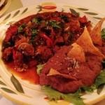 フォンダ・デ・ラ・マドゥルガーダ - PUNTAS MEXICANAS with 4 tortillas/プンタス・メヒカーナス・トルティーヤ4枚付
