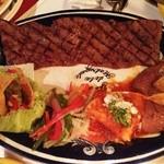 フォンダ・デ・ラ・マドゥルガーダ - CARNE ASADA A LA TAMPIQUENA with 4 tortillas/カルネ・アサダ・ア・ラ・タンピケーニャ トルティーヤ4枚付
