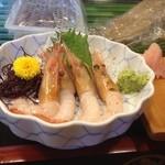 常鮨 - 料理写真:ぼたんエビ
