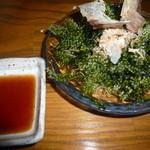 和食個室×しゃぶしゃぶ鍋 にっぽん市 - やっぱ「海ぶどう」は美味しいですな~♪
