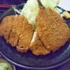 もも太郎 - 料理写真:チキンカツアジフライ定食