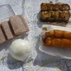 すゞき - 料理写真:くるみゆべし、ふぶき饅頭、ごまだんご、焼きだんご