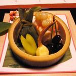 俵屋旅館 - 2014 1月:夕食、先付け
