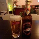 ピーナカーナ - インドビールのゴールデンイーグル 630円