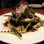 ビストロ 集 - たことワカメのピリ辛サラダ 900円