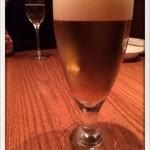 ビストロ 集 - 生ビール 2014.2
