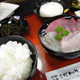 漁師の店 こだわり - 料理写真: