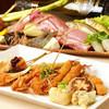 串づ串 - 料理写真:コースにて、季節の食材をお楽しみください。
