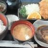 宝亭 - 料理写真:140207東京 宝亭 日替わり800円(とんかつ&煮魚かれい)